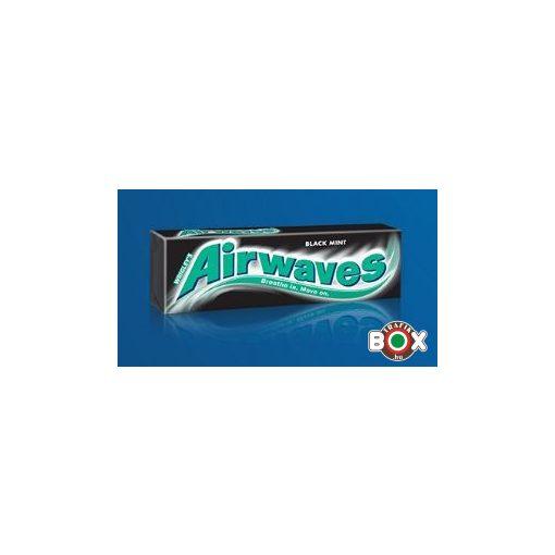 Airwaves Drazsé Black Mint 10 db-os