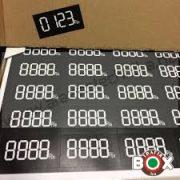 Digitális öntapadós etikett árcimke 44 db/ív  48x25 mm tb2058