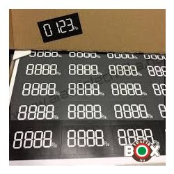 Digitális öntapadós etikett cimke 44 db/ív  48x25 mm tb2058