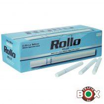 ROLLO Blue Slim ultra CIGARETTAHÜVELY (200 db-os)