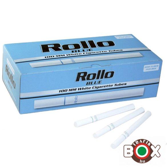 Cigarettahüvely Rollo Blue 100mm (200 db-os)