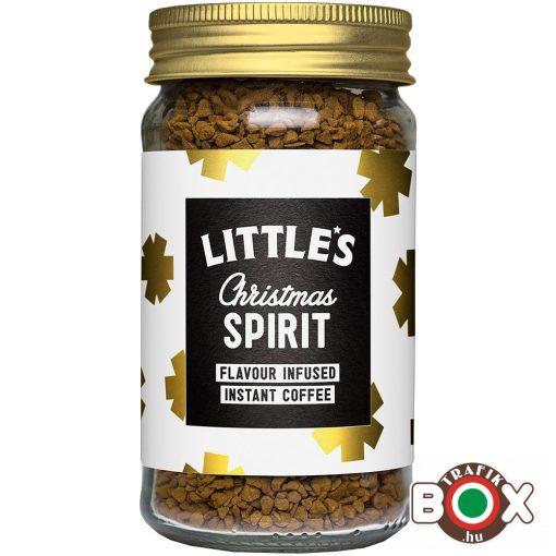 Little's Karácsonyi szeszes ízű infúziós instant kávé 50 g