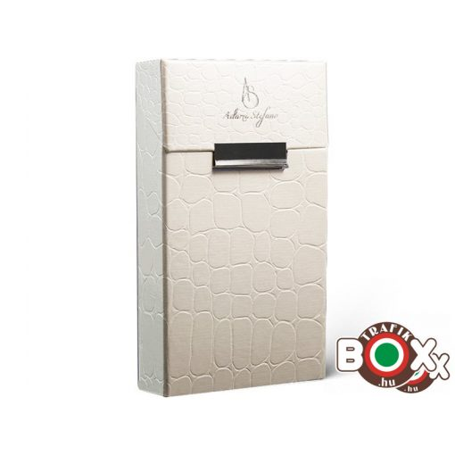 Adami Stefano Cigarettatartó doboz 100-as ML Crocco White UT