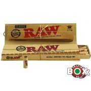 RAW Kingsize Slim+PRE-Rolled Tips Cigarettapapír 25079