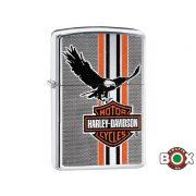 29656 Zippo öngyújtó Harley Davidson® polírozott króm