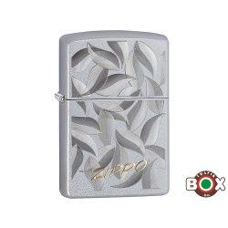 Zippo ÁRHARCOS Zippo Leaf (205 Satin Chrome, Auto Two Tone) (29908)