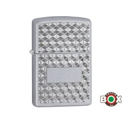 Zippo ÁRHARCOS Honeycomb (205 Satin Chrome, Auto Engrave) (29911)