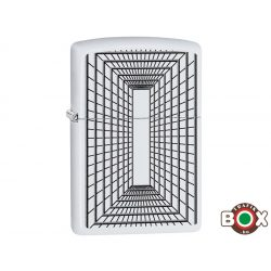 Zippo ÁRHARCOS Lines Boxed (214 White Matte, Color Image) (29916)
