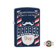 Zippo ÁRHARCOS Barber Shop (239 Navy Matte, Color Image) (29919)