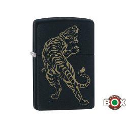 Zippo ÁRHARCOS Tiger (218 Black Matte, Laser Engrave) (29924)