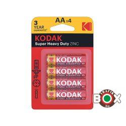 KODAK Extra Zinc Féltartós Ceruza Elem AA (1,5V) B4 4 db/bliszter