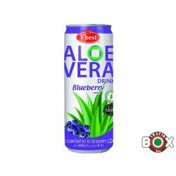 ALOE VERA rost. gyüm.ital áfonya ízű 240 ml (30db/#) 31012