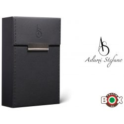 Adami Stefano Cigarettatartó doboz M 80-as Elegance Black Stitched Sides