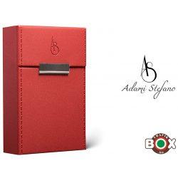 Adami Stefano Cigarettatartó doboz M 80-as Elegance Red Stitched Sides