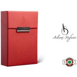 Adami Stefano Cigarettatartó doboz M 80-as Elegance Red AS Printed