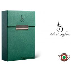 Adami Stefano Cigarettatartó doboz M 80-as Elegance British Green  AS Printed
