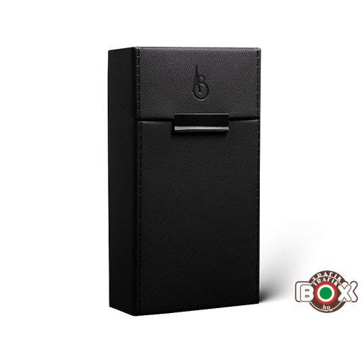 Adami Stefano ML 100 Elegance black Stitched Cigarettatartó doboz