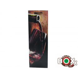 Dísztasak italos Folyó Vörösboros 36 x 12,8 x 8,4 mm 337000