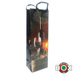 Dísztasak italos Hordó + Üveg Bor 36 x 12,8 x 8,4 mm 337126