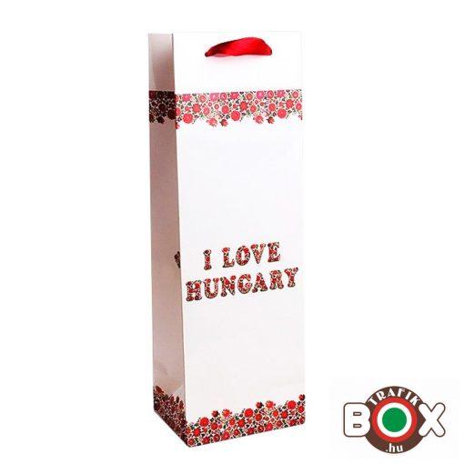 Dísztasak italos Boros I LOVE HUNGARY 337875