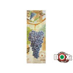 Dísztasak ital Boros kék szőlőfürt 342978