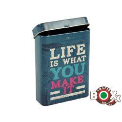 Cigarettadoboz Fém LIFE minta 348614