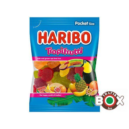 HARIBO Tropifrutti Gumicukor Trópusi gyümölcs ízű 100 g