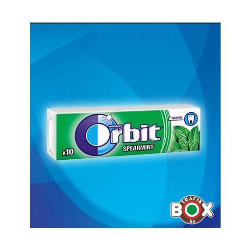 Orbit Drazsé Spearmint 10 db-os (zöld)