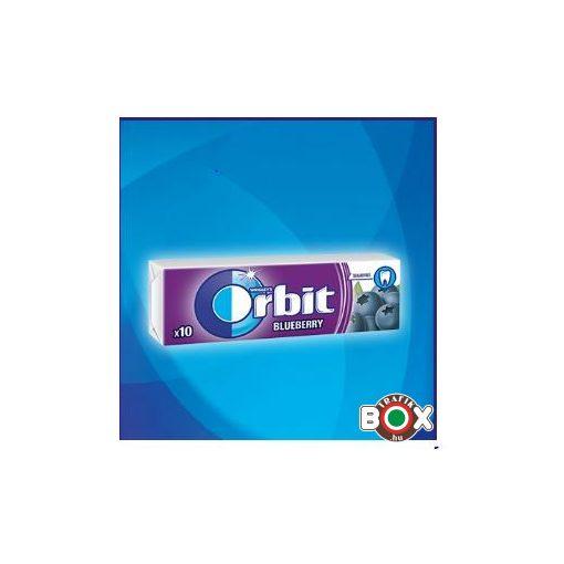 Orbit Drazsé Blueberry 10 db-os