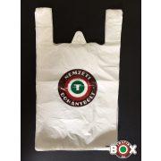 Ingvállas Táska Fehér Nemzeti Dohánybolt felirattal (30×52cm, 7 kg-os)  500db
