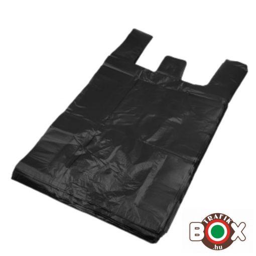 Fekete Ingvállas Táska (28×48cm) 500 db/csomag