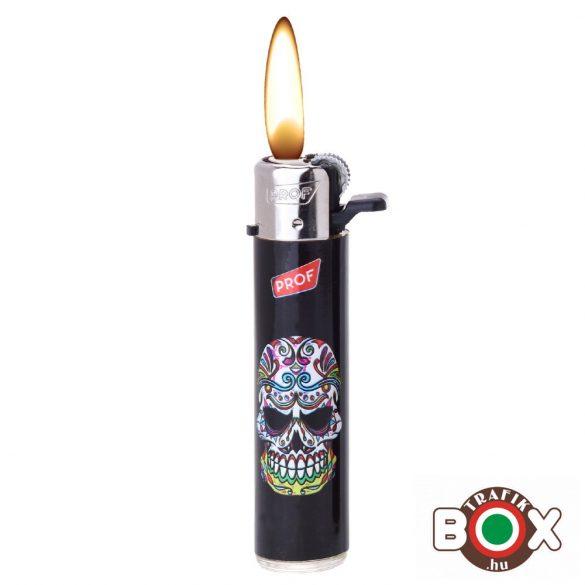 ÖNGYÚJTÓ Tűzköves Prémium PROF Koponya minta 40009548