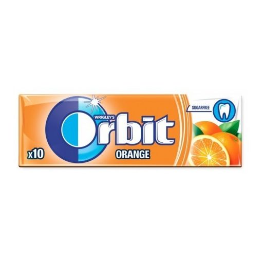 Orbit Drazsé Orange 10 db-os
