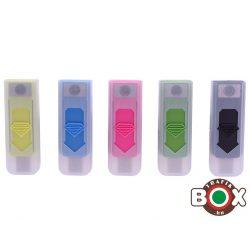ÖNGYÚJTÓ Champ Műanyag USB-röl tölthető Bliszteres 40400304