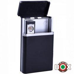 Cigarettatartó CHAMP műanyag Beépített USB Öngyújtóval 40400317