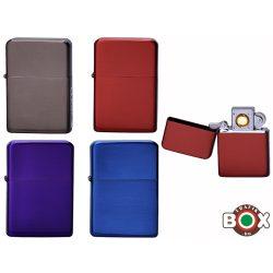 Öngyújtó Champ fém USB-röl tölthető Vegyes színek 40400324