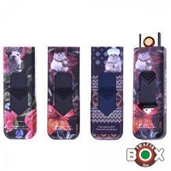ÖNGYÚJTÓ Champ Műanyag USB-röl tölthető Kalapos Cica-Kutya 40400331