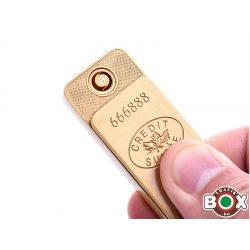 Öngyújtó Champ USB-röl tölthető Aranytömb 40400347