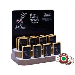 Öngyújtó Champ fém Arany-Fekete, Poénos nyuszi 40401942