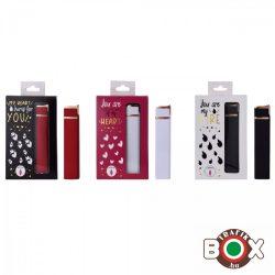 ÖNGYÚJTÓ CHAMP Fém Vihar LOVE BOX vegyes színek 40402312