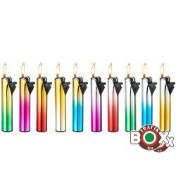 ÖNGYÚJTÓ Tűzköves Prémium CHAMP vegyes Metál Szivárvány színek 40402315