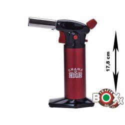 Szakácsfáklya Champ Fekete - Piros 17,8 cm 40407005