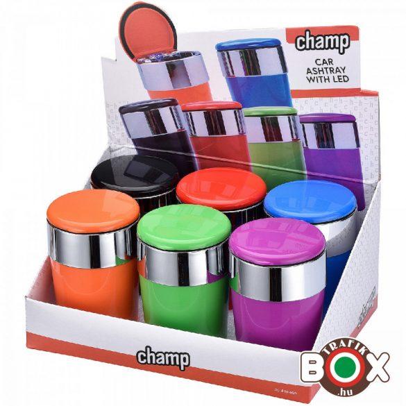 Hamuzó Champ autós LED színes hamuzó 40448606
