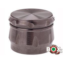 Dohányőrlő CHAMP Fém Grafit 4 részes 3,9 mm 40506041