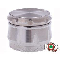 Dohányőrlő CHAMP Fém Ezüst 4 részes 3,9 mm 40506042