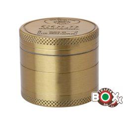 Dohányőrlő Champ Gold 4 részes 40 mm 40506069