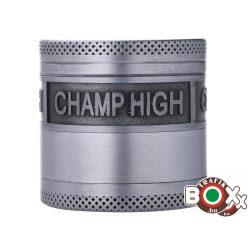 Dohányőrlő CHAMP Fém 4 részes 4 cm Ezüst 40506087
