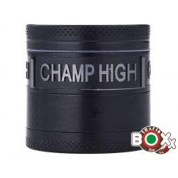 Dohányörlő CHAMP Fém 4 részes 4 cm fekete 40506088