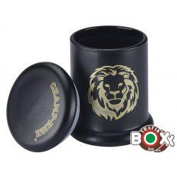 Dohánytartó CHAMP Hermetikusan záró üveg hordó 7,8× 5,5 cm 40506113