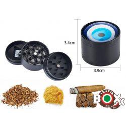 Dohányőrlő CHAMP Gonosz Szem 3 részes 40 mm 40506122